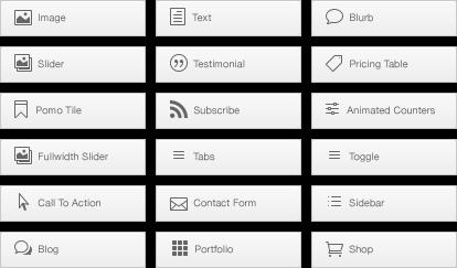 Advanced web designer components